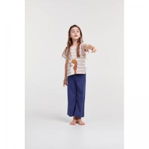 Meisjes-Dames pyjama logo