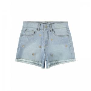 131225 Denim Shorts logo