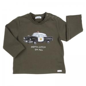 BJ T-SHIRT LM POLICE CAR logo