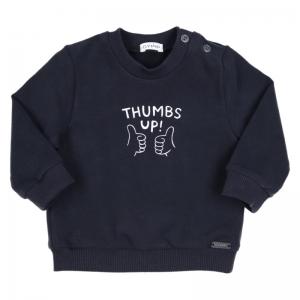 BJ SWEATER THUMBS UP logo